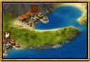 Screenshot of Grepolis - Map